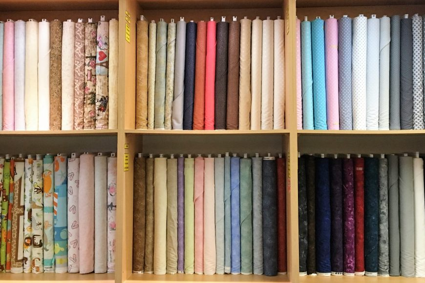 Premium 100% Cotton Quilting Fabrics Available.